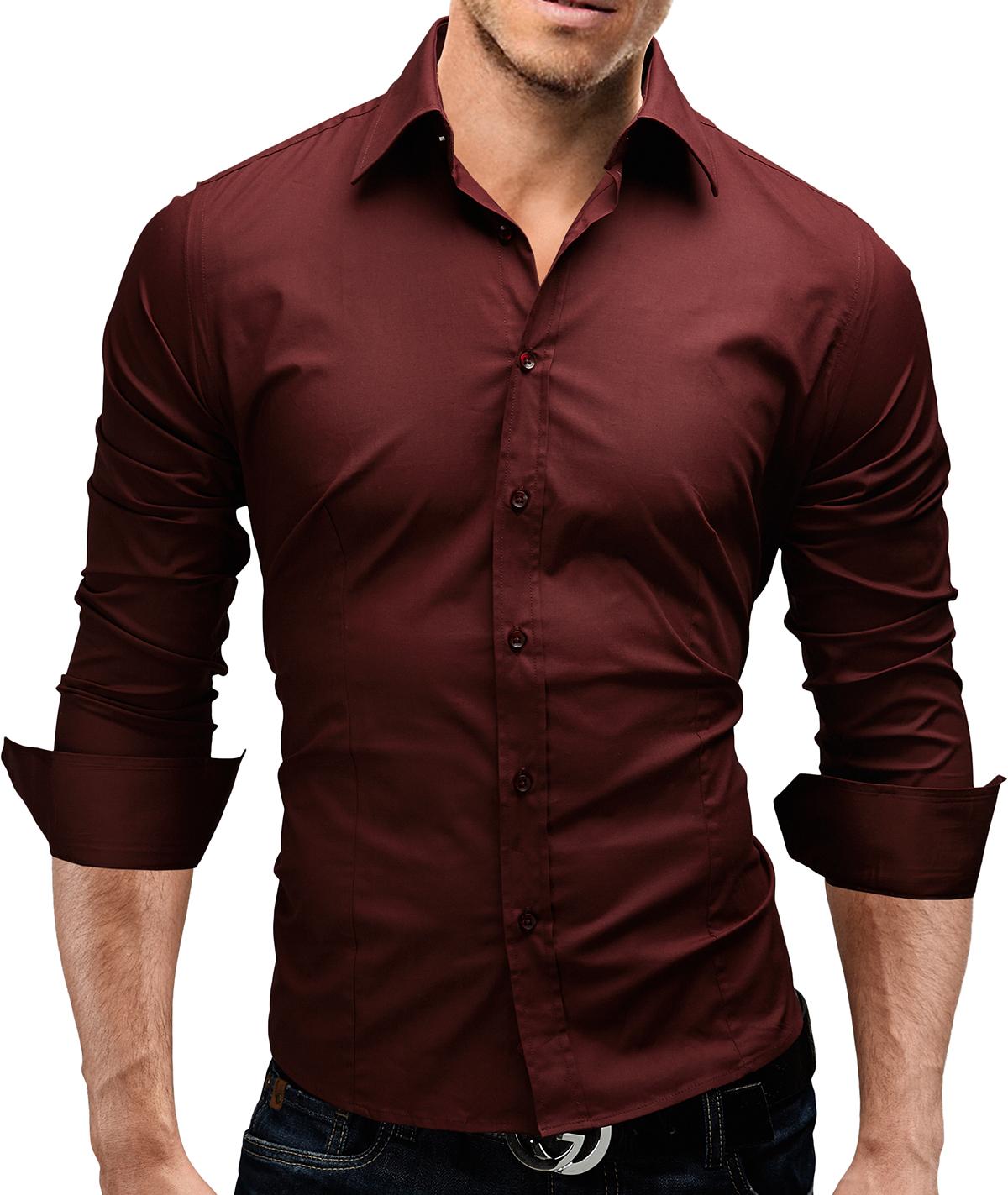 merish herren hemd 6 modelle s xxl slim fit neu t shirt. Black Bedroom Furniture Sets. Home Design Ideas