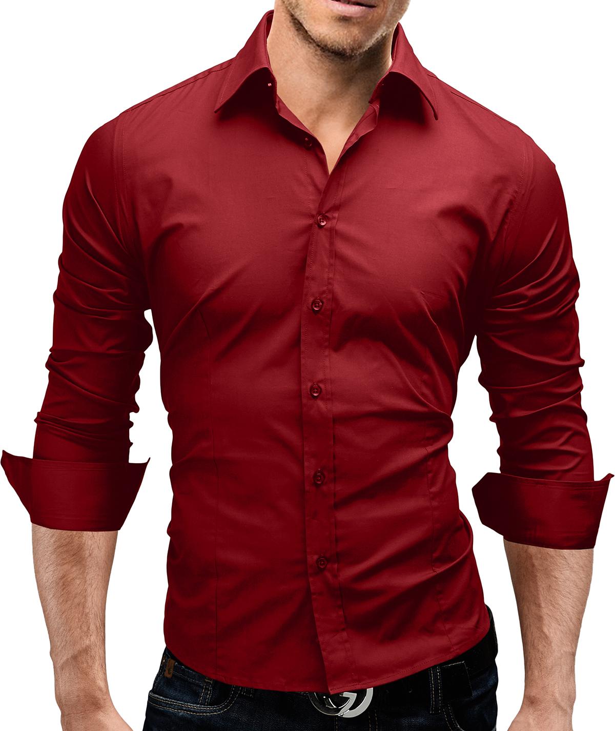 details about merish herren hemd 6 modelle s xxl slim fit neu t shirt. Black Bedroom Furniture Sets. Home Design Ideas