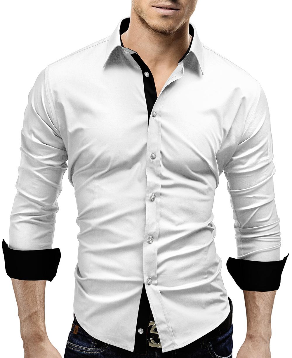 merish herrenhemd slim fit hemd figurbetont langarm. Black Bedroom Furniture Sets. Home Design Ideas