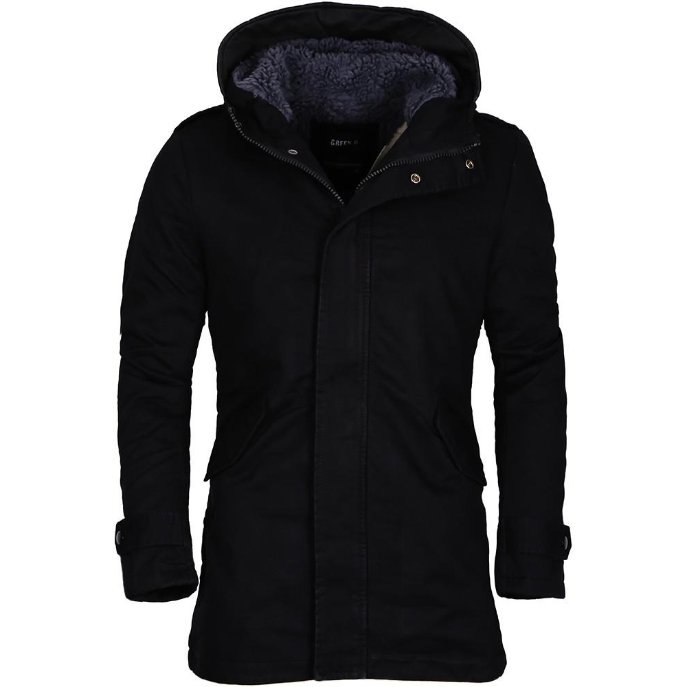 merish herren jacke mantel winterjacke outdoor parka s xxl winter kapuze 89 90 ebay. Black Bedroom Furniture Sets. Home Design Ideas