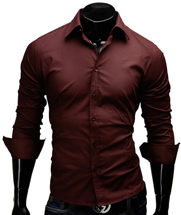 herren hemd figurbetont unifarben slim fit polo neu t shirt merish. Black Bedroom Furniture Sets. Home Design Ideas
