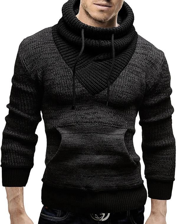 merish strickpullover slim fit schalkragen herren pullover strick neu 61 ebay. Black Bedroom Furniture Sets. Home Design Ideas